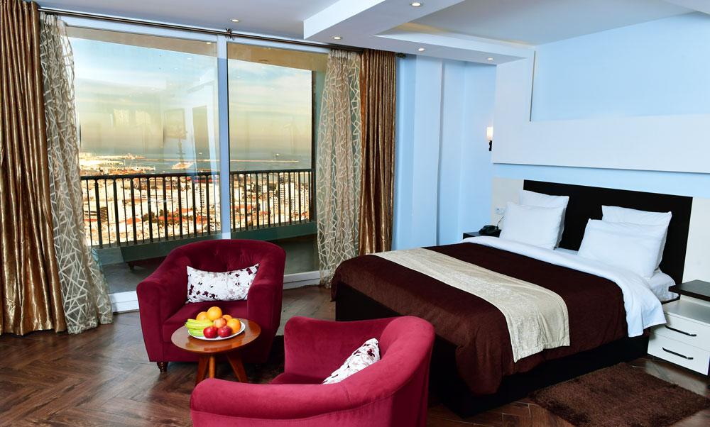 Chambre vue sur la mer - Hotel Ikram El Dhayf