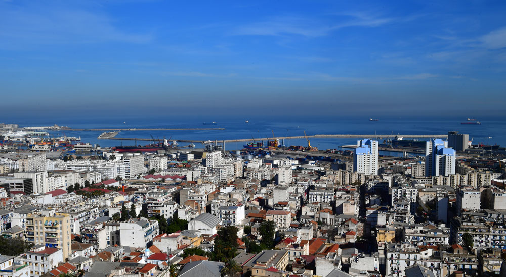 Hotel Ikram El Dhayf - Vue Panoramique sur Alger centre